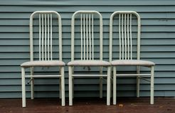Three chairs Stock Photography