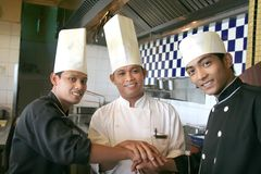 Three chef Royalty Free Stock Photography