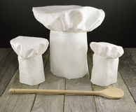 Three Chef S Toques Stock Photo