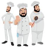 Three Chefs Stock Photos