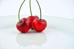 Three cherries Royalty Free Stock Image