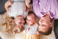 Three children Stock Image