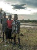 Three children Royalty Free Stock Image