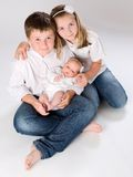 Three children Royalty Free Stock Photography