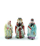 Three chinese god Royalty Free Stock Images