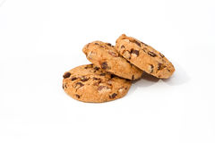 Three chocolate chip Stock Photo