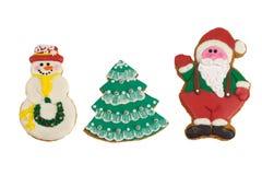 Christmas cookies. Studio Royalty Free Stock Photos
