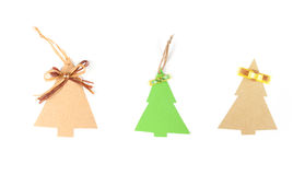 Three christmas tree Stock Images