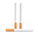 Three cigarettes (Path) Stock Image