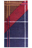 Three classic men's handkerchiefs Stock Image
