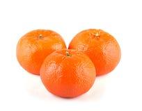 Three Clementines Stock Photos