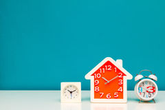 Three clocks Royalty Free Stock Image