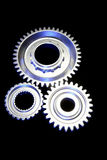 Three cogs Royalty Free Stock Photos