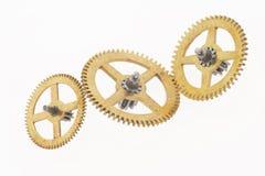 Three cogwheels Stock Photography