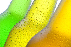 Three Cold Drinks Stock Photography