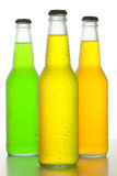 Three Cold Drinks Stock Image