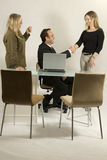 Three Colleagues Royalty Free Stock Images