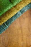 Three-color flag of Gabon Royalty Free Stock Photos