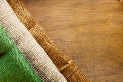 Three-color flag of Ireland Stock Photo