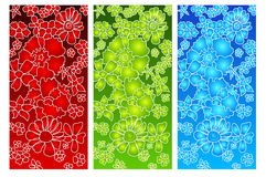 Three-colored background Stock Photo
