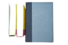 Three Colorful Books Stock Photos