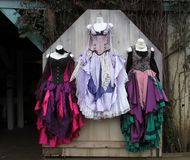 Colorful Dresses royalty free stock photo