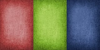 Three colors Royalty Free Stock Images
