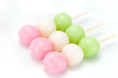 Three colors Dango Royalty Free Stock Image