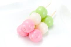 Three colors Dango Royalty Free Stock Image