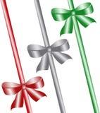 Three colour bow Royalty Free Stock Image