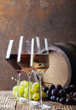 Three colours of wine Royalty Free Stock Photography