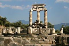 Tholos of Athena Pronaia Stock Photos