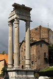 Three Columns of the Temple of Apollo Stock Photos