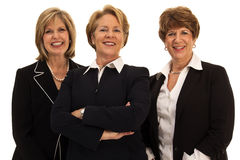 Three Confident Business Women Royalty Free Stock Images