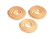 Three cookies Stock Photos