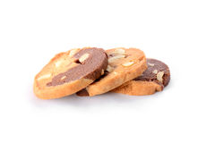 Three Cookies Royalty Free Stock Images