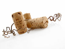 Three corks Stock Photo