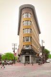 Three corners building. Royalty Free Stock Image