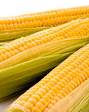 Three corns isolated Stock Photo