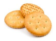 Three crackers Stock Image