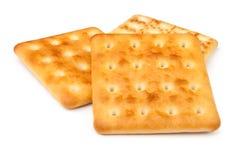 Three crackers Stock Photos