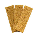Three crispbreads Stock Photo