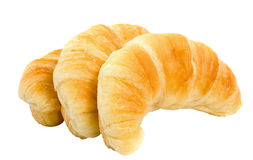 Three Croissants Royalty Free Stock Image