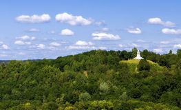 The Three Cross Hill in Vilnius. Capital of Lithuania Stock Image