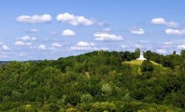 The Three Cross Hill in Vilnius stock image