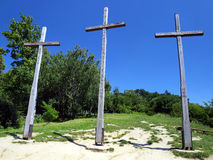 Three Crosses' Hill in Kazimierz Dolny Royalty Free Stock Photography