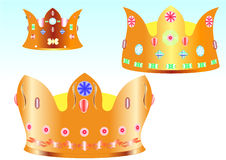 Three crown Stock Image