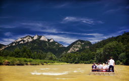 Three Crowns from Dunajec river. royalty free stock image