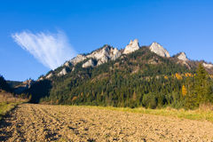 Three Crowns - Pieniny, Poland Royalty Free Stock Photo