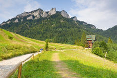 Three Crowns - Pieniny, Poland Stock Images